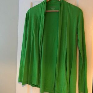 Lilly Pulitzer small green cardigan
